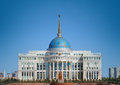Residence of kazakh president photo Stock Photo