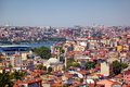The residental neighborhoods of houses in the Besiktas region, I Royalty Free Stock Photo
