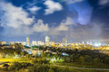 Residential area of Ashdod, Israel Royalty Free Stock Photo