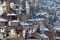 Residential Area of Veliko Tarnovo Royalty Free Stock Photo