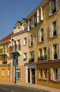 Residential block in Vaureal Stock Images