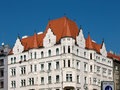 Residential building in Holesovice, Prague Royalty Free Stock Photo