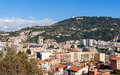 Residential buildings in nice france Royalty Free Stock Image