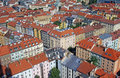 Residential district in prague houses Royalty Free Stock Images