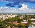 Residential district at Vladimir city Royalty Free Stock Image