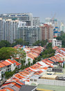 Residential downtown in Singapore Stock Photography