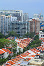 Residential downtown in Singapore Royalty Free Stock Image