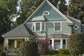 Residential house Seattle WA. Royalty Free Stock Photo