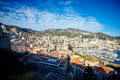 Residential quarters monaco france winter winter Stock Images