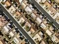 Residential suburban houses. Stock Image