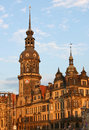 Residenzschloss in Dresden,Saxony,Germany Royalty Free Stock Photo