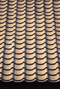 Resin roof closeup synthesize in retro color style Stock Image