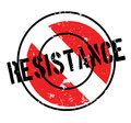 Resistance rubber stamp