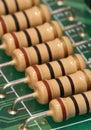 Resistors Stock Image