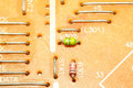 Resistors on circuit board Stock Photos