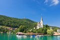 Resort maria worth church of st primus and felician austria view Royalty Free Stock Photo
