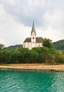 Resort maria worth church of st primus and felician austria view Royalty Free Stock Photography