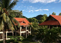 Resort in pulau redang malaysia is taken Royalty Free Stock Photography