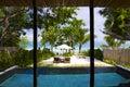 Resort samui tropical panorama in koh thailand Royalty Free Stock Images