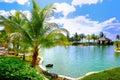 Resort Swimming Pool 1 Royalty Free Stock Images