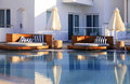 Resort Swimming Pool Royalty Free Stock Photo