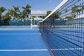 Resort Tennis Club Royalty Free Stock Photography
