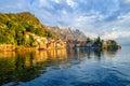 Resort town Varenna on Lake Como, Italy Royalty Free Stock Photo