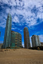 Resorts at Beach in Surfers Paradise Stock Images