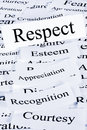 Respect Concept Royalty Free Stock Photo