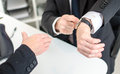 Respect for working hours concept of Royalty Free Stock Photo