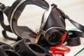 Respirator mask from the berman Fire Brigade