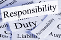 Responsibility Concept Royalty Free Stock Photo
