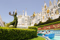 Ressource la Californie de Disneyland Images stock