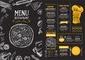 Restaurace kavárna šablona