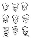 Restaurant chefs Royalty Free Stock Images