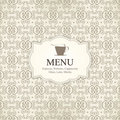 Restaurant or coffee house menu Royalty Free Stock Photo