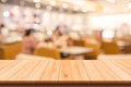 Restaurant and Coffee shop blurred background Royalty Free Stock Photo