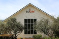 Restaurant de solbar chez solage calistoga resort en californie Photo stock