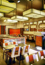 Restaurant in eastern style detail of interior of Royalty Free Stock Photos