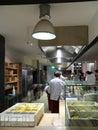A restaurant' kitchen Stock Images