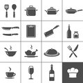 Restaurant kitchen icons and cooking simplus series vector illustration Royalty Free Stock Image