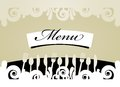 Restaurant Menu Card Royalty Free Stock Image