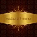 Restaurant menu design 02 Royalty Free Stock Photography
