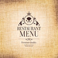 Restaurant menu design for cafe bar coffee house Royalty Free Stock Photos