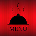 Restaurant menu template in grunge retro style Royalty Free Stock Photos