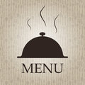 Restaurant menu template vector illustration Stock Image