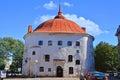 Restaurant Round tower in Vyborg, Russia