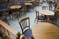 Restaurant seating Royalty Free Stock Photo