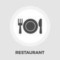Restaurant vector flat icon