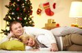 Restful couple Stock Photos